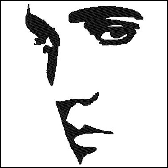 Design . Elvis clipart embroidery
