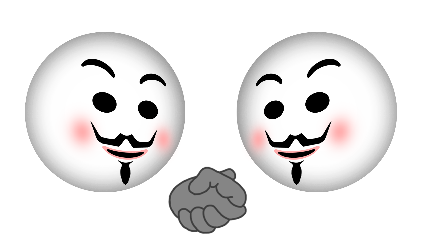 Anonymous emoji pinterest and. Elvis clipart emojis