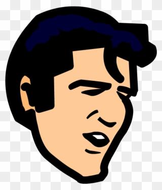 Free png presley clip. Elvis clipart face