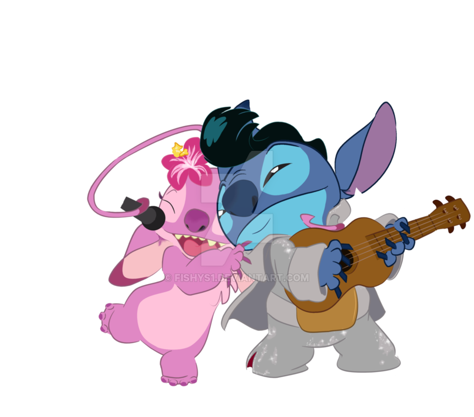 Stitch clipart gangster. Angel band by fishys