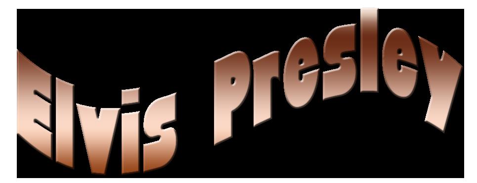 Elvis clipart font. Index of presley cadre