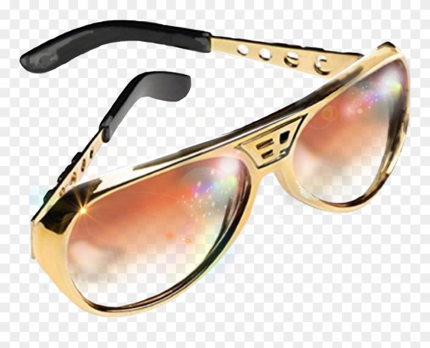 Glasses png download . Elvis clipart glass