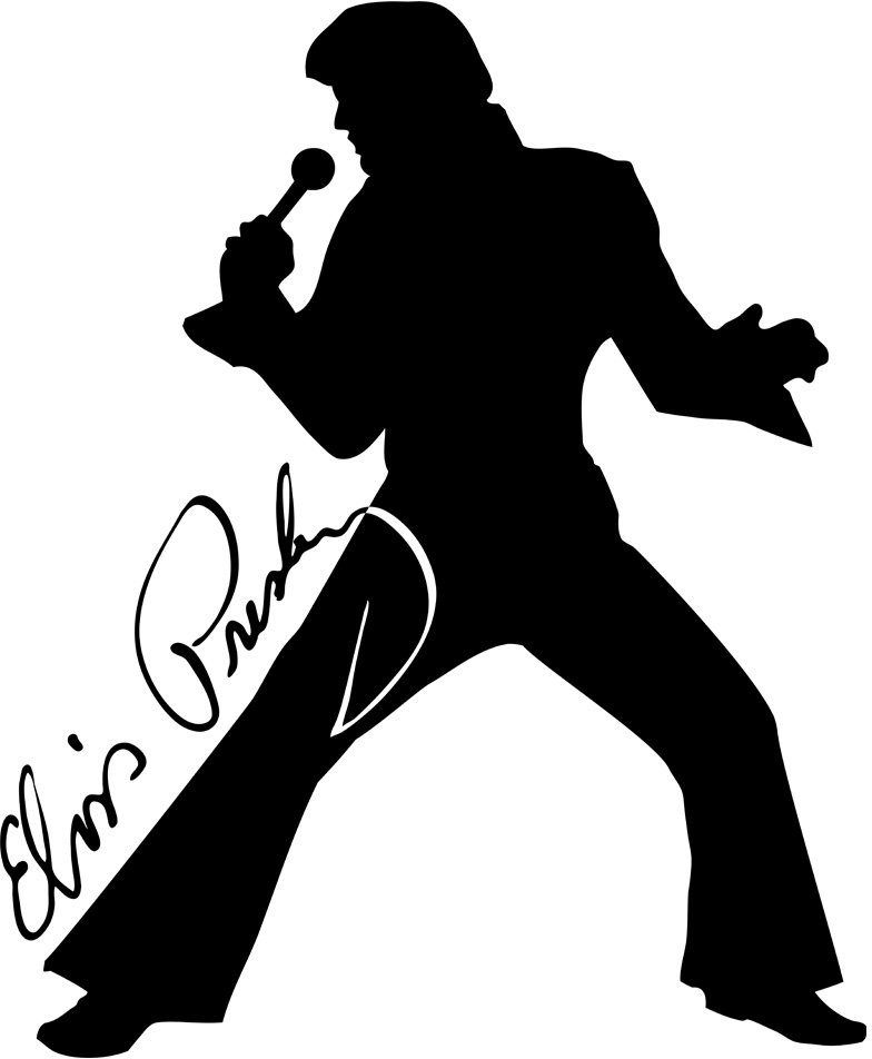 Elvis clipart hip. Pin by rick fell