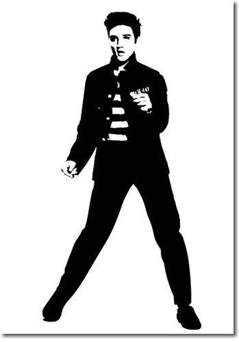 Elvis clipart logo. Presley dancers star pics