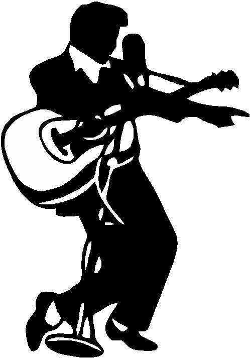 Elvis clipart logo.  clip art clipartlook