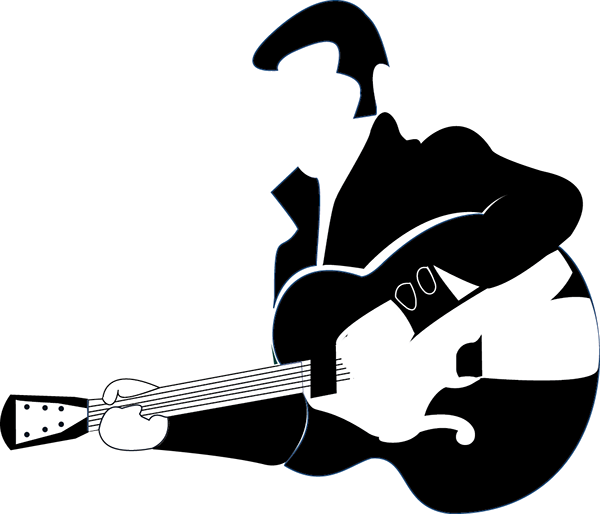 Elvis clipart musician. Music icons on behance