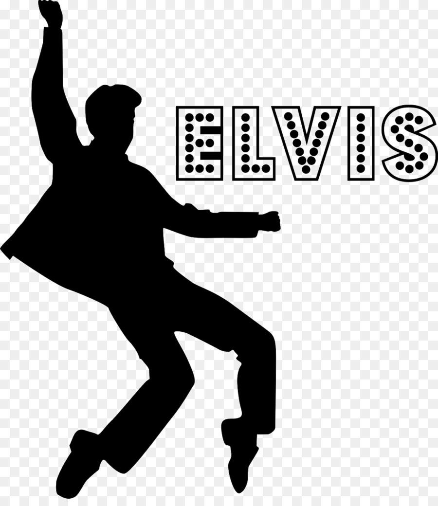 Elvis clipart name. Free silhouette clip art