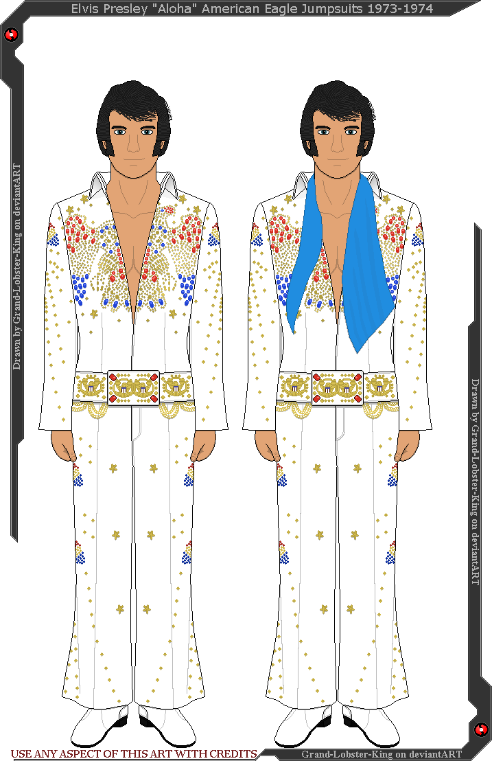 Elvis clipart pattern. Presley aloha american eagle