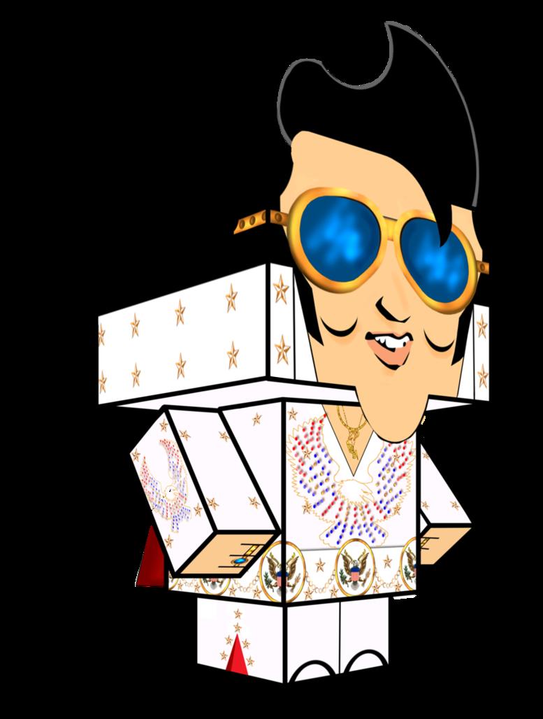 Elvis clipart pattern. Cubee by carl on