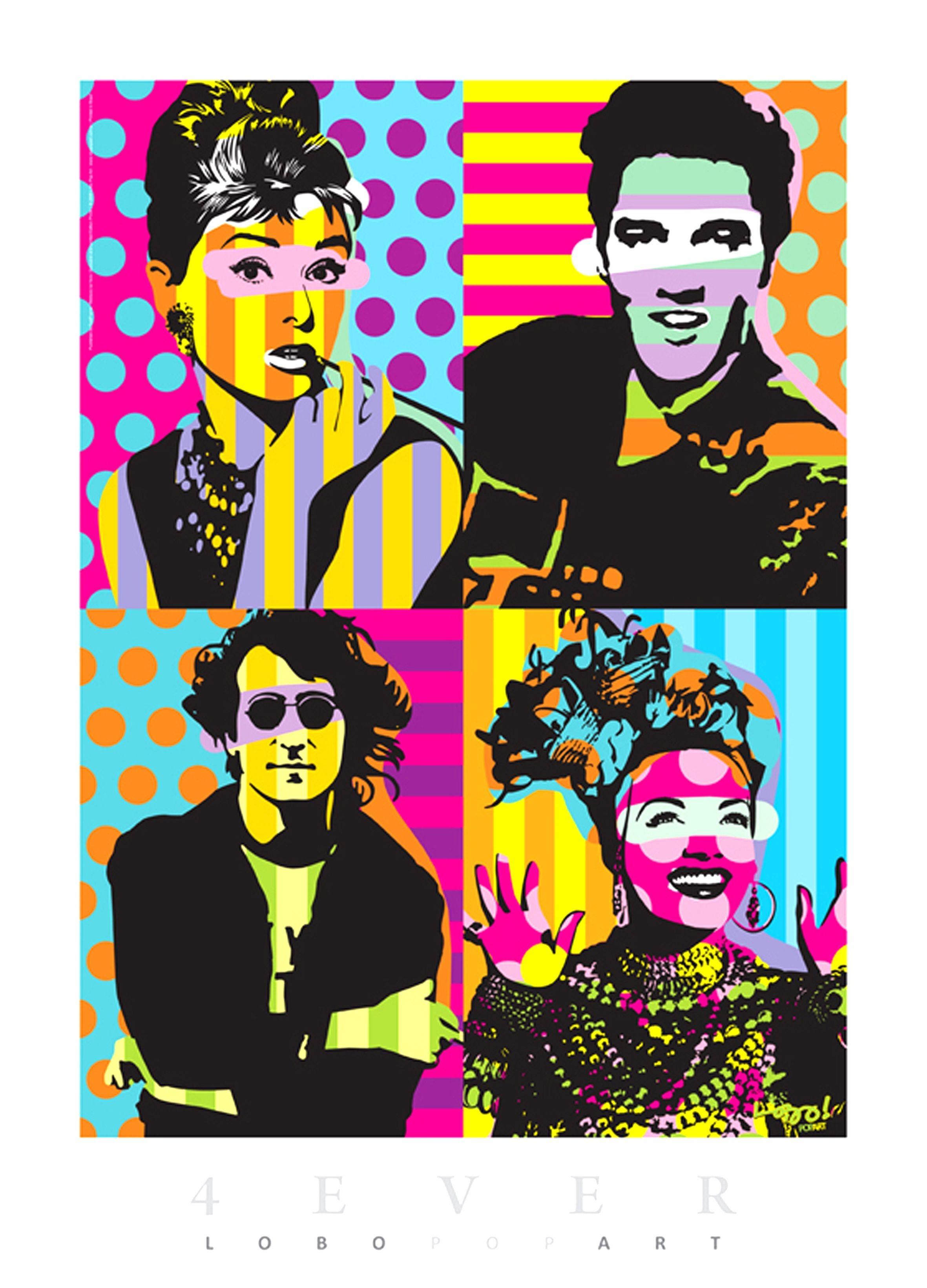Elvis clipart pop art. Decora o com p