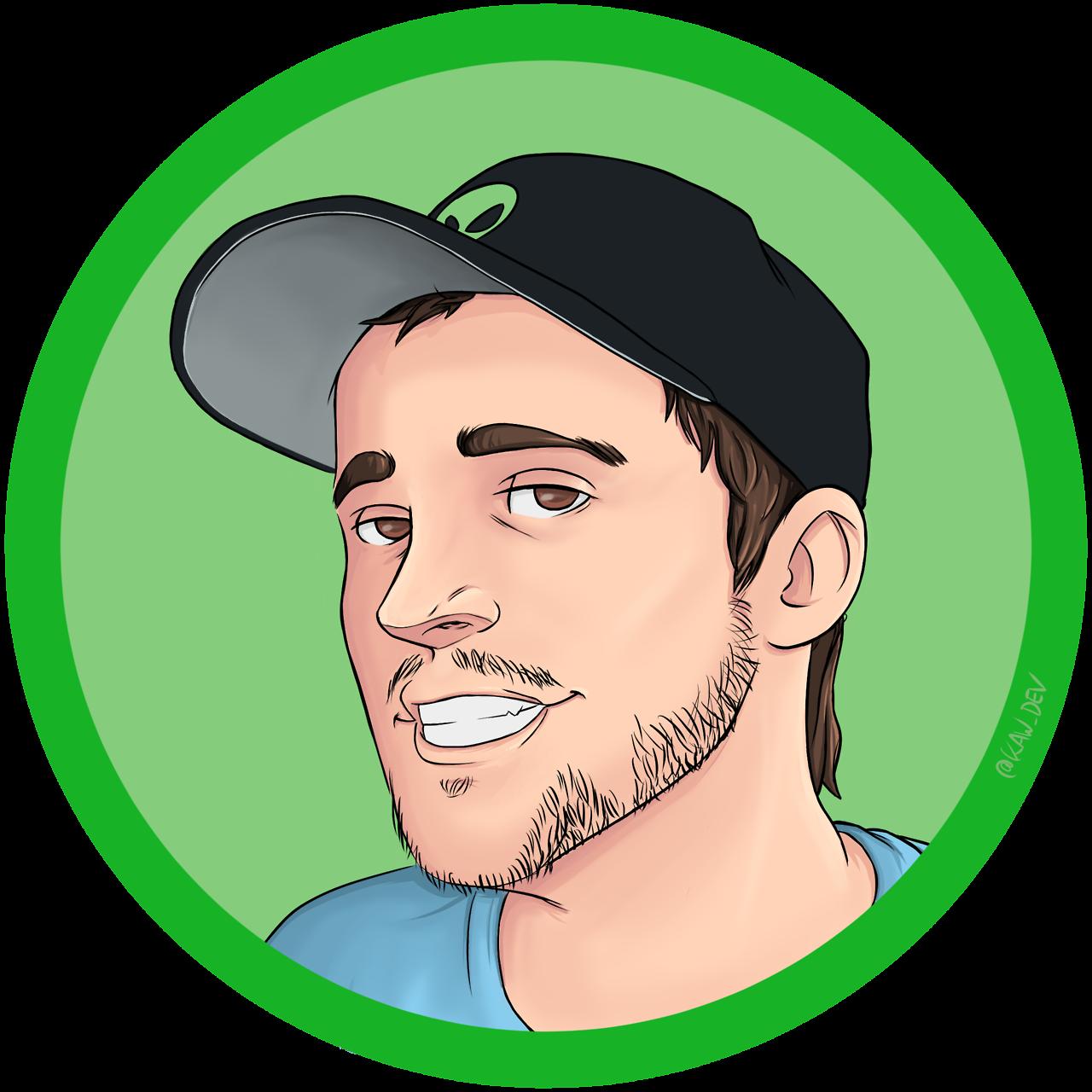 Kaw dev youtuber avatar. Elvis clipart portrait