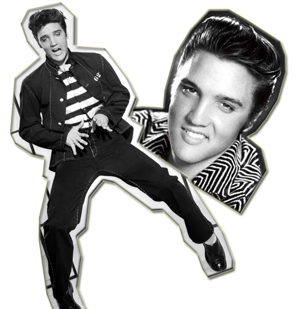 Presley jailhouse and musician. Elvis clipart rock n roll