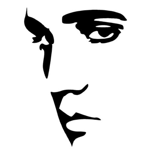Elvis clipart sheet. Die cut vinyl decal