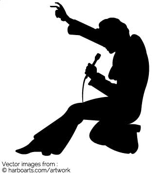 Free download best on. Elvis clipart sillouette