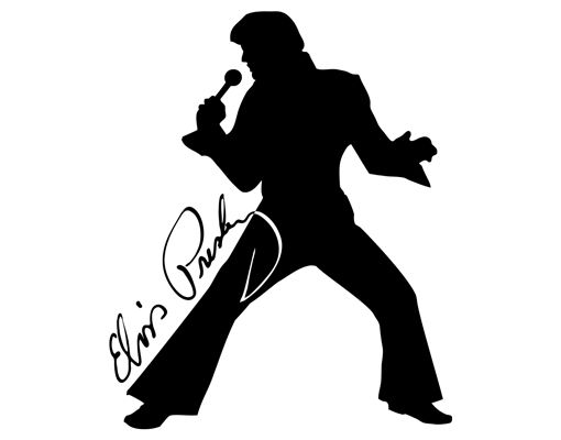 Free silhouette images download. Elvis clipart sillouette