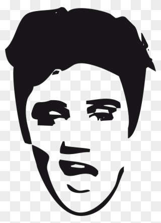 Elvis clipart simple. Free png clip art