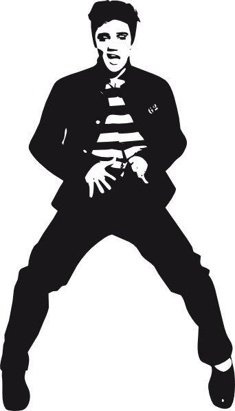 Free images s dancer. Elvis clipart svg