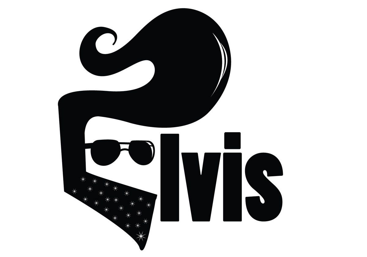 Elvis clipart transfer. Logo google search silhouette