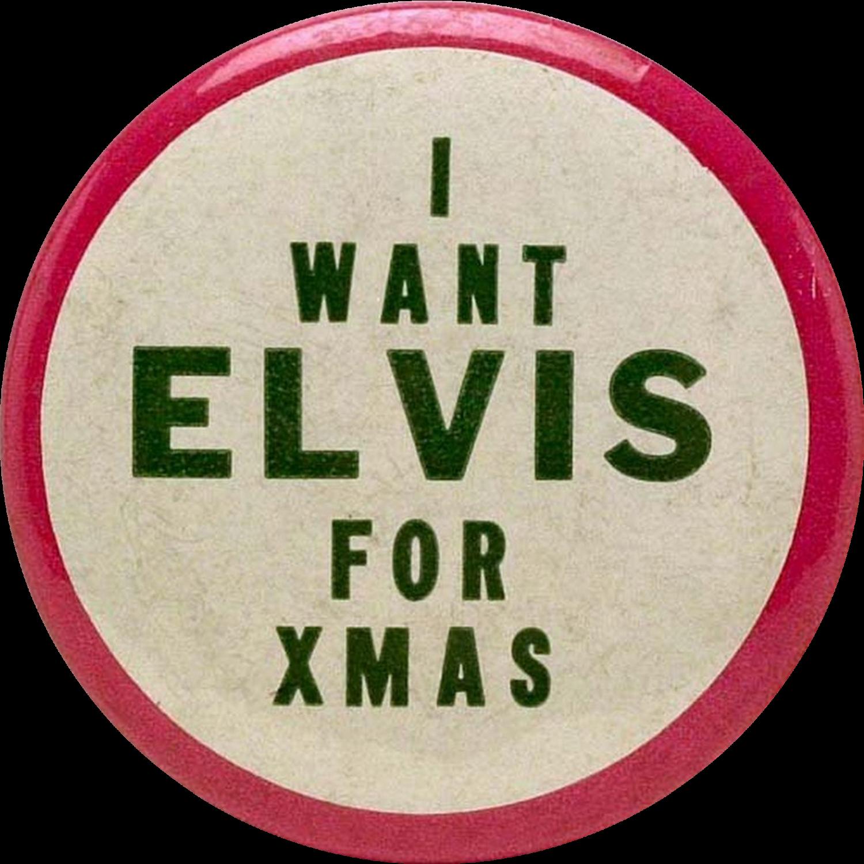 Worldwide christmas vinyl s. Elvis clipart word elvis presley