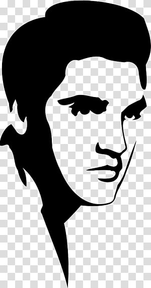 Transparent background png cliparts. Elvis clipart word elvis presley