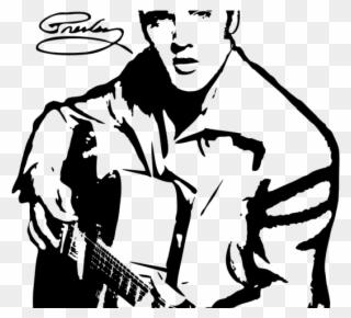 Elvis clipart word elvis presley. Free png clip art
