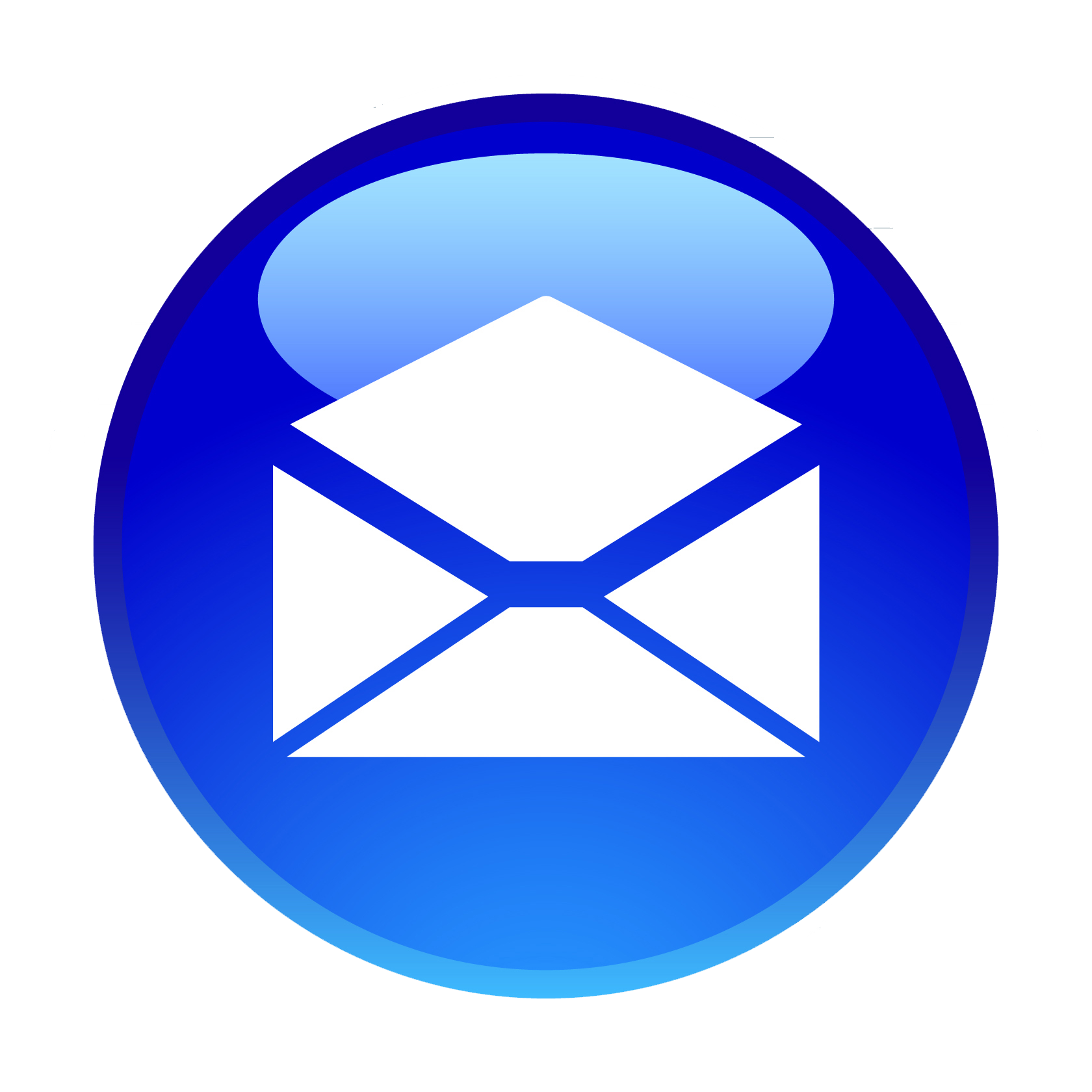 steps to marketing. Email clipart blue email