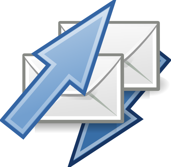 Email sending letters clip. Mail clipart application letter