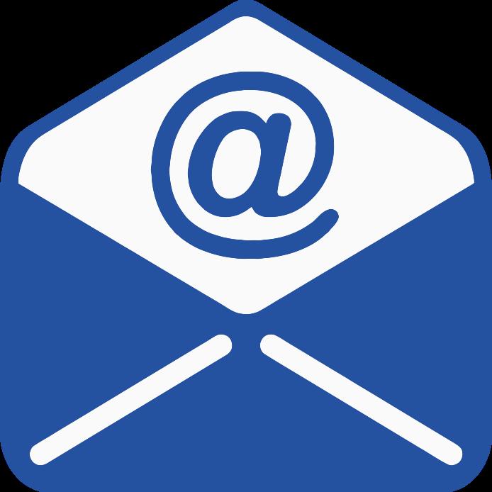 Email clipart blue email. Empangeni high school logo