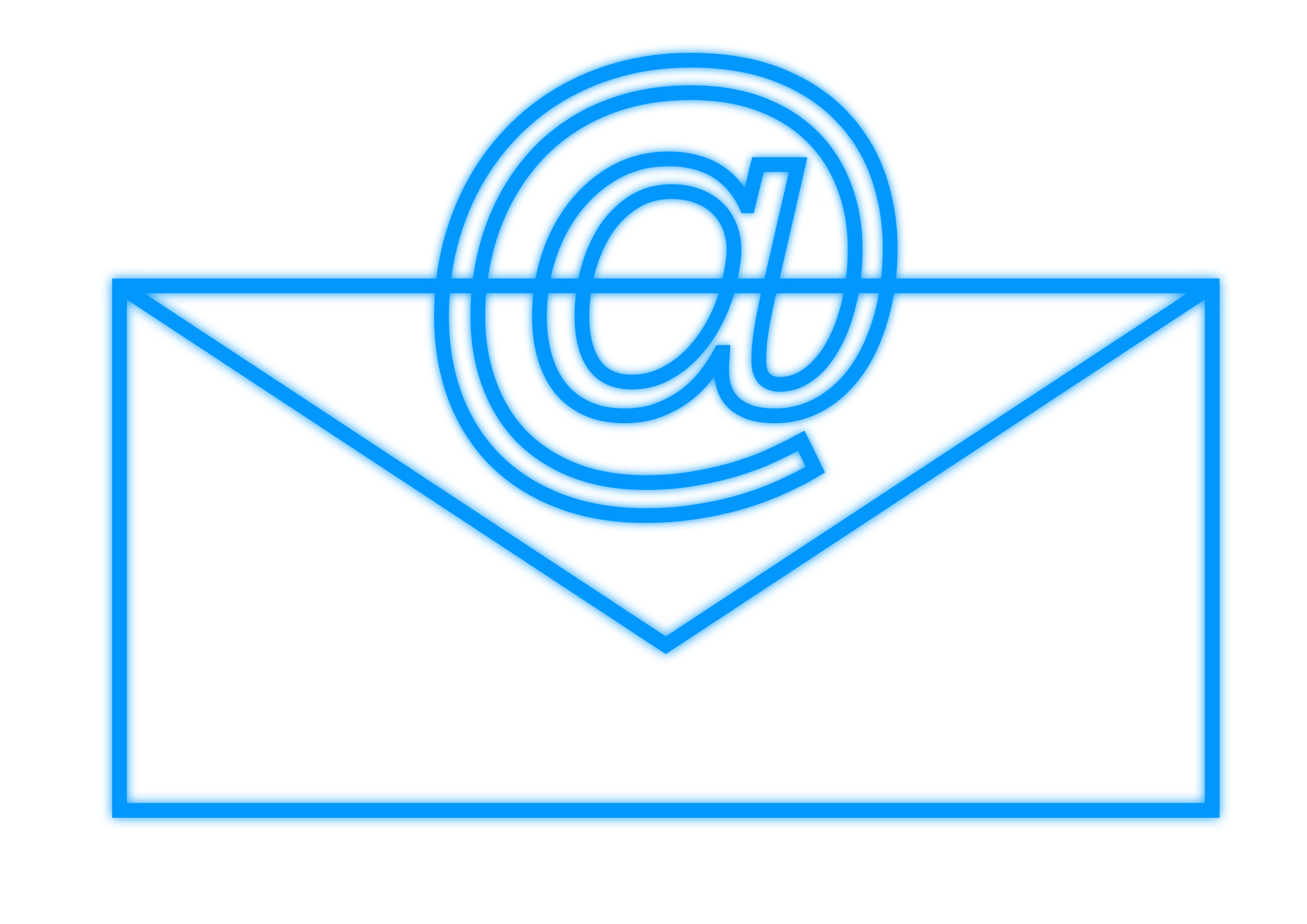 Email clipart blue email. Rectangle big image png