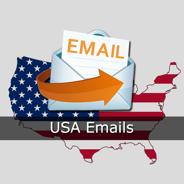 Usa emails online data. Email clipart business email