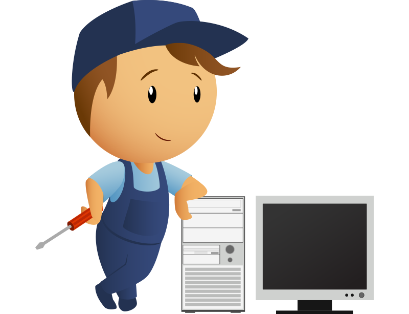 Repairs derby pc mobile. Engineer clipart computer reliability