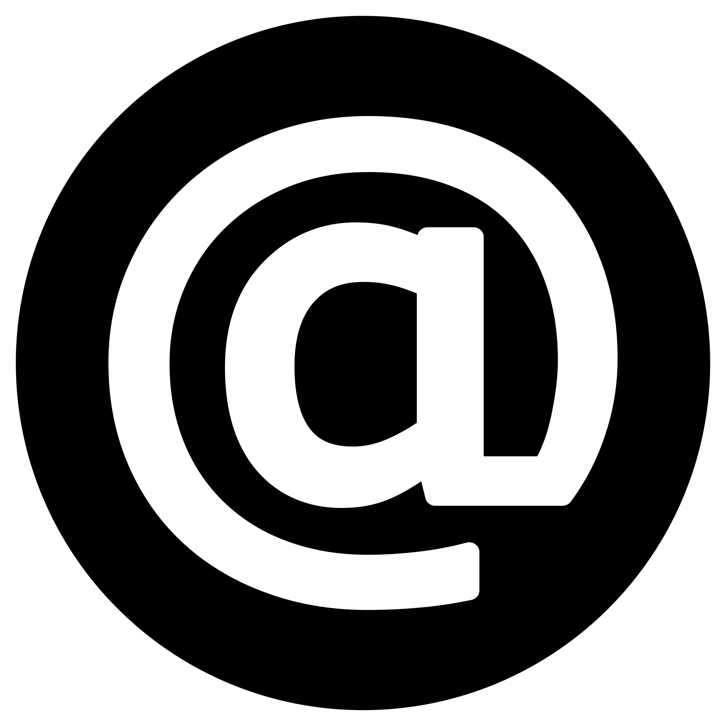 Mail clipart mail icon. Email white on black