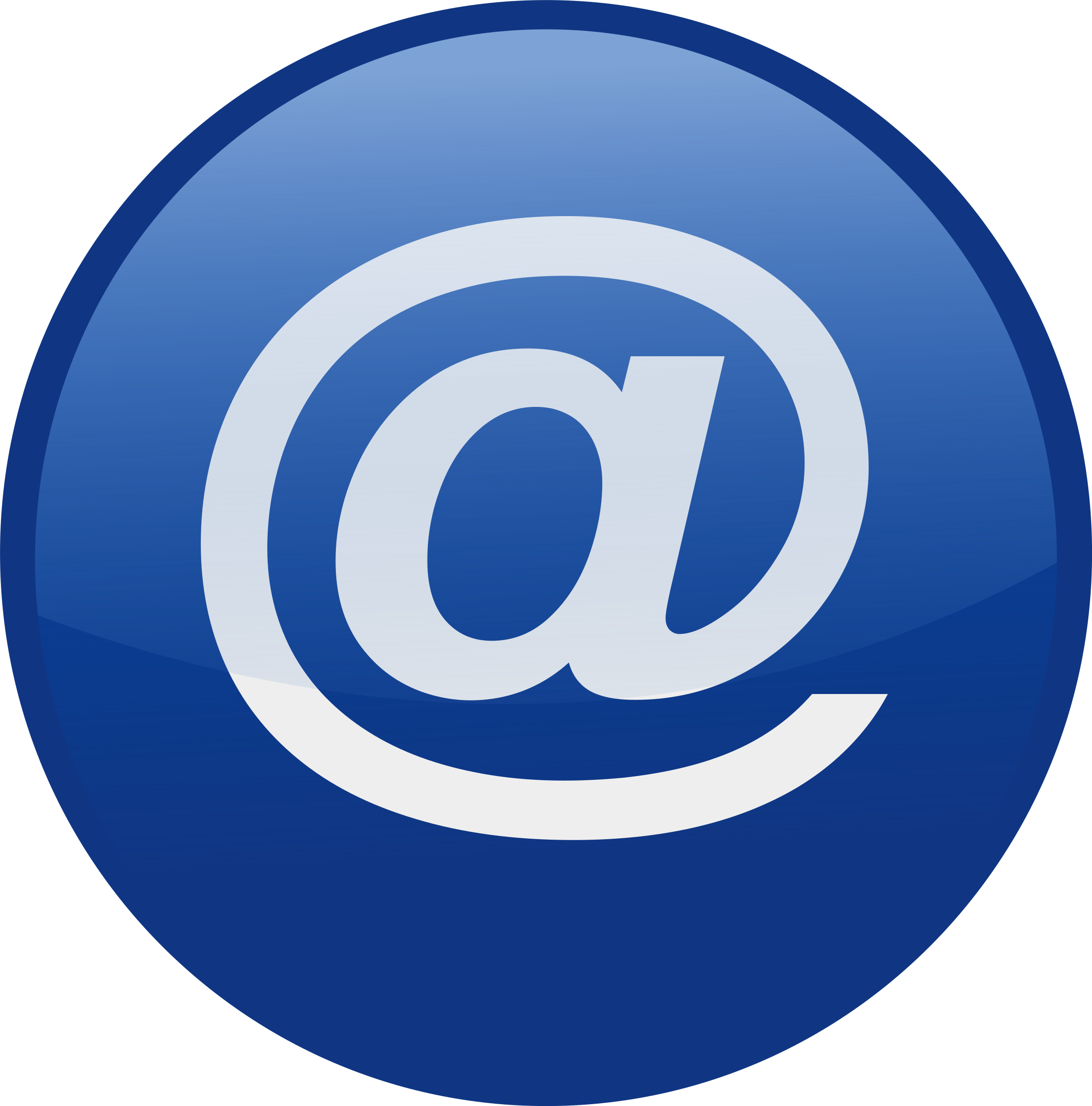 Email clipart email address. Blue big image png
