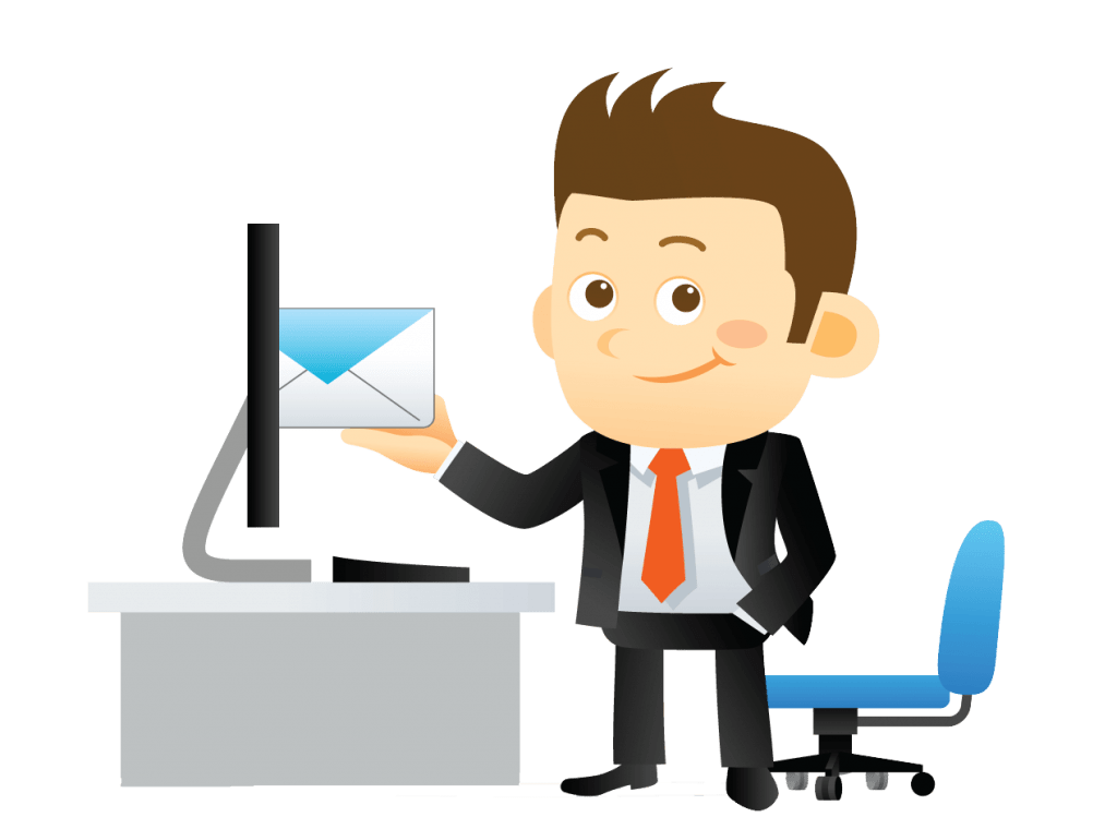 Best email software real. Marketing clipart grown up
