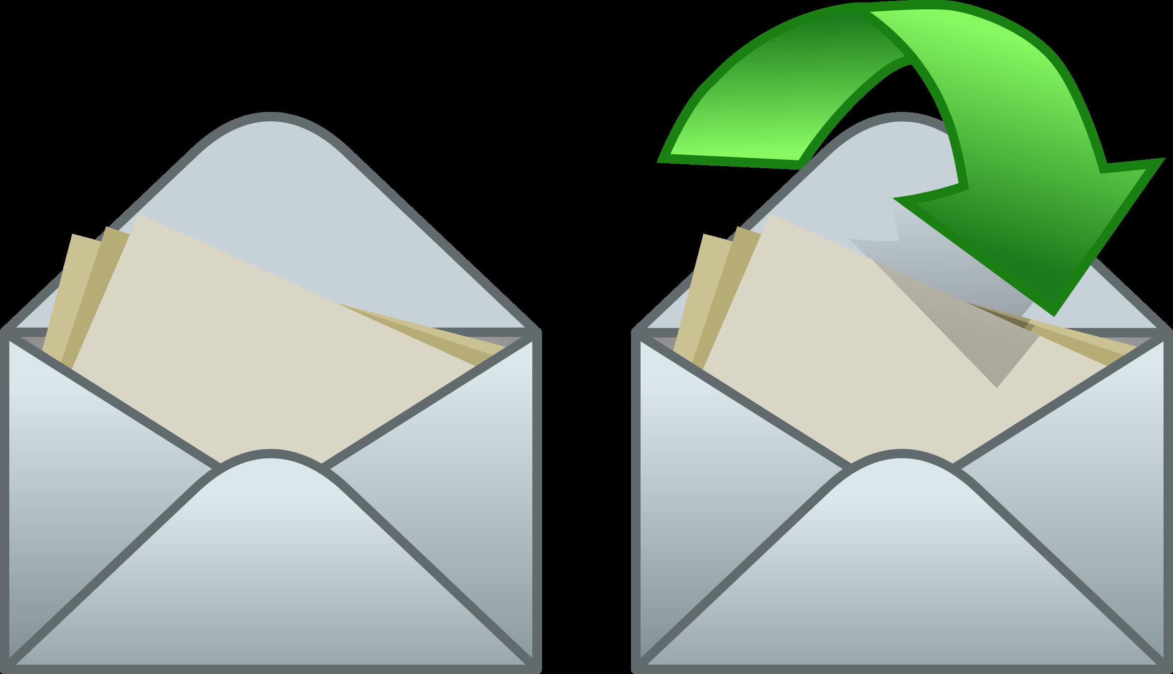 envelope clipart catalog