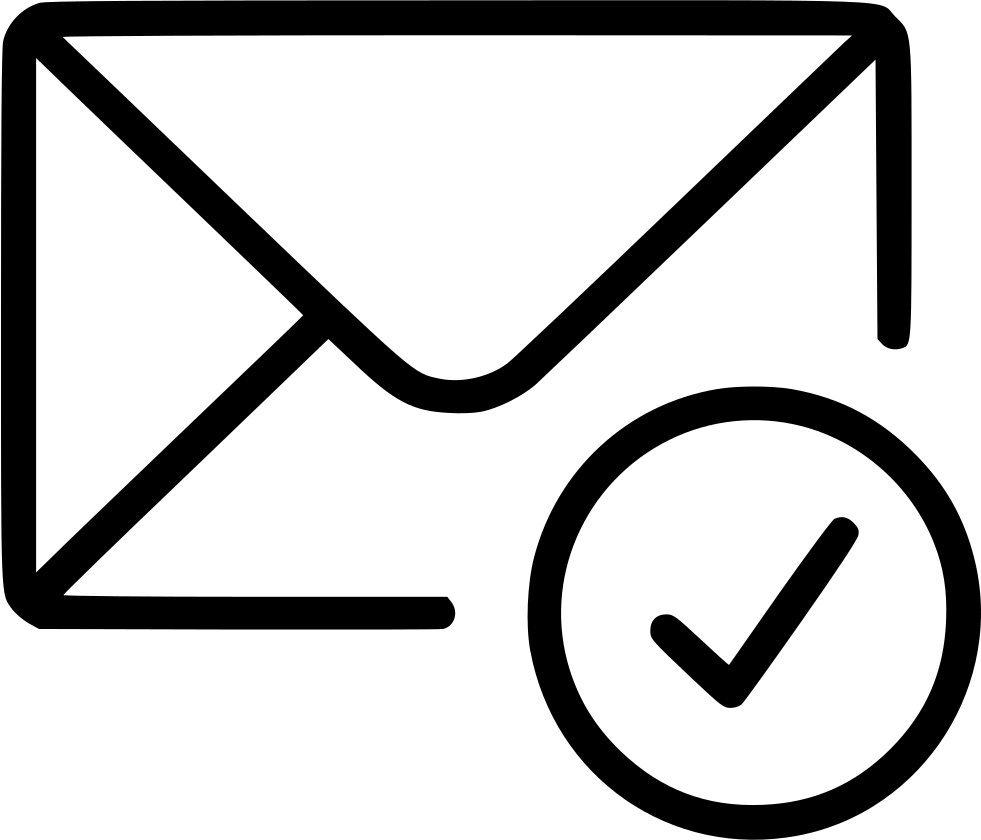 Check aprove email envelope. Mail clipart envelopeclip