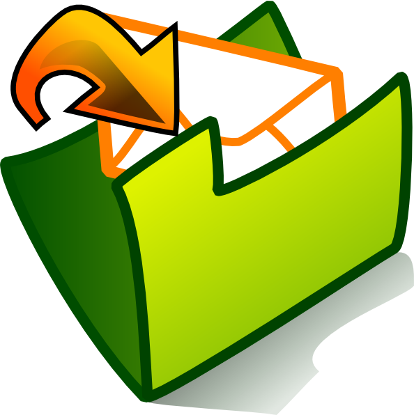 Facebook clipart inbox. Folder clip art at