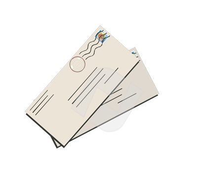 Free letter cliparts download. Mail clipart mail package