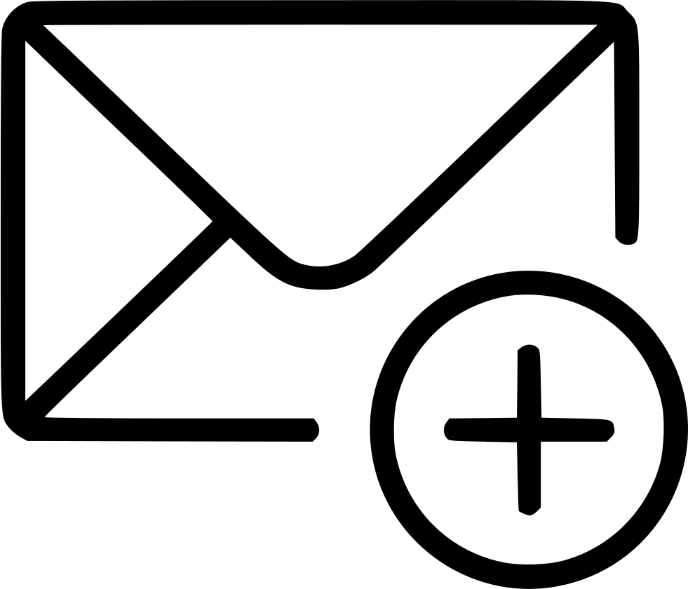 Add email envelope message. Mail clipart mail icon