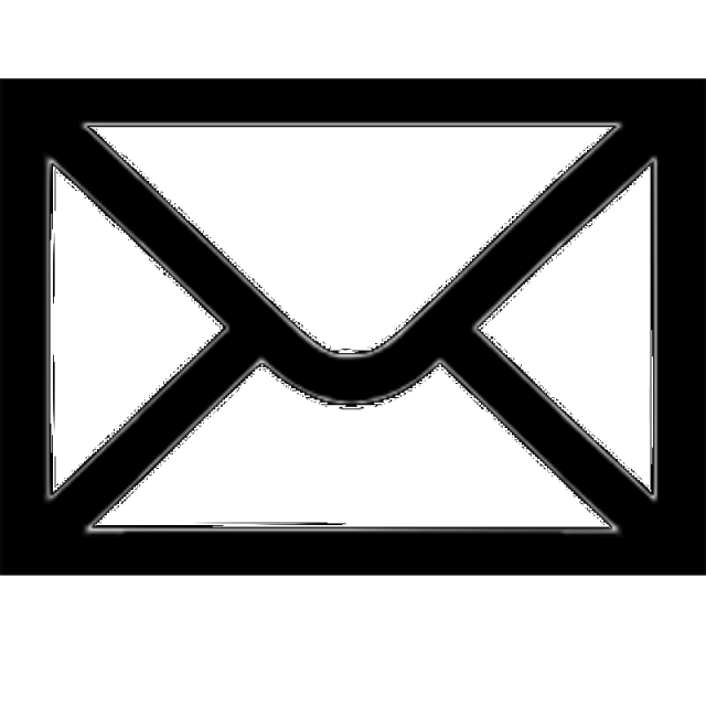 Mailbox clipart vector. Mail icon email gmail