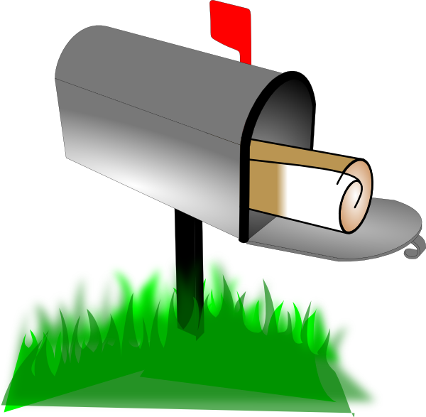 Email clipart mailbox. Clip art at clker