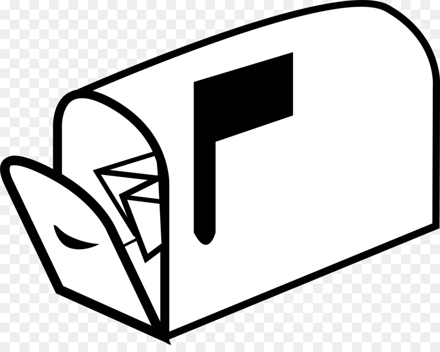 Mailbox clipart junk mail. Text box email white