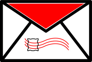 Email image animated clip. Envelope clipart mail
