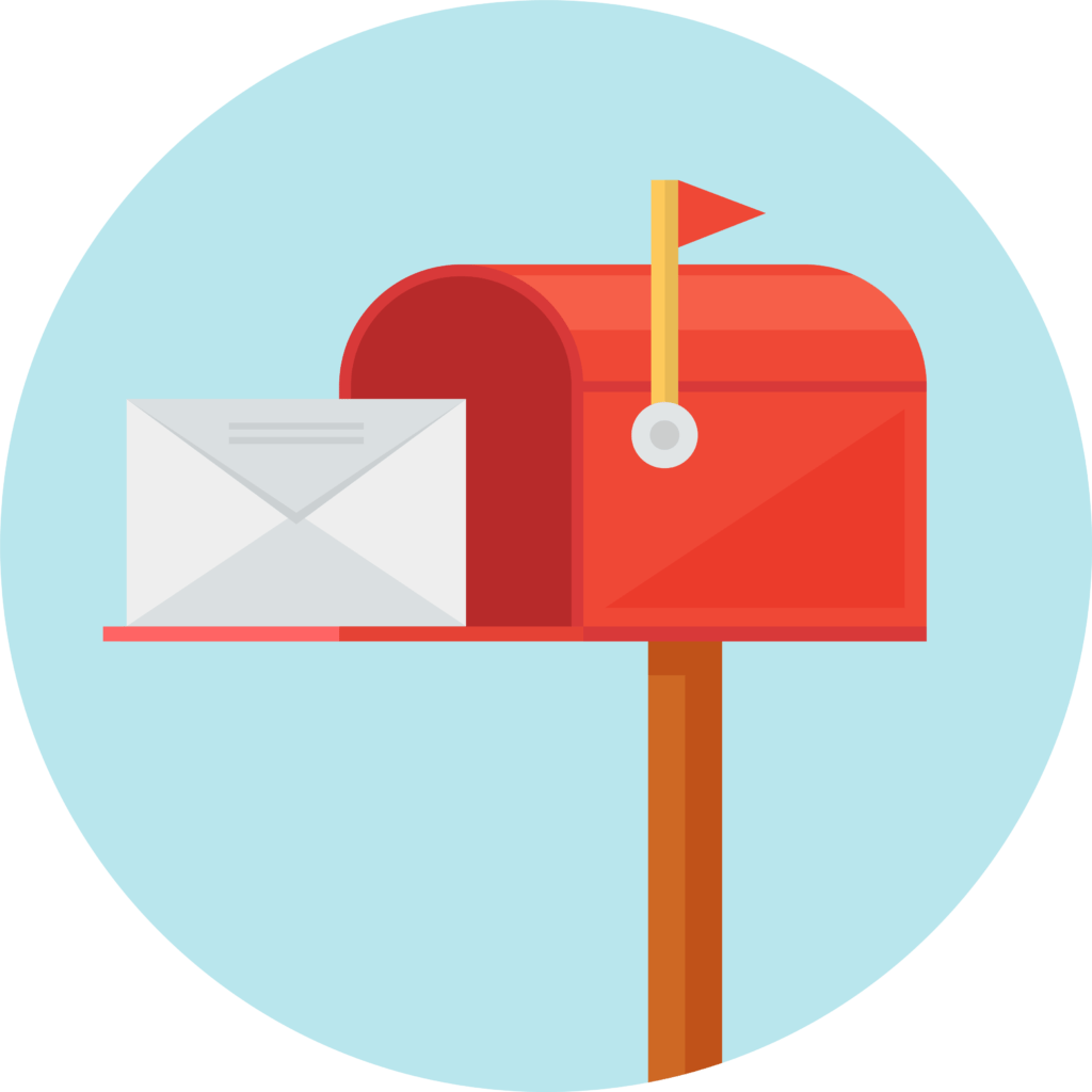 Mailbox clipart love. Direct mail marketing services