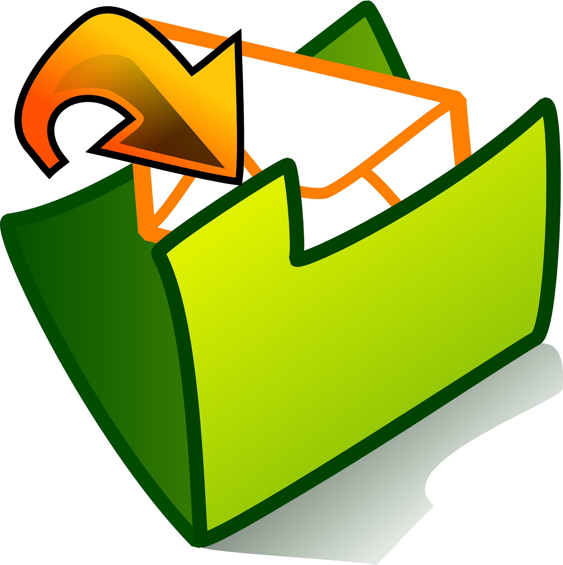 Mail clipart junk mail. Tame your email inbox