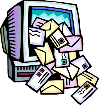 Mail collection clipartsgram . Email clipart many