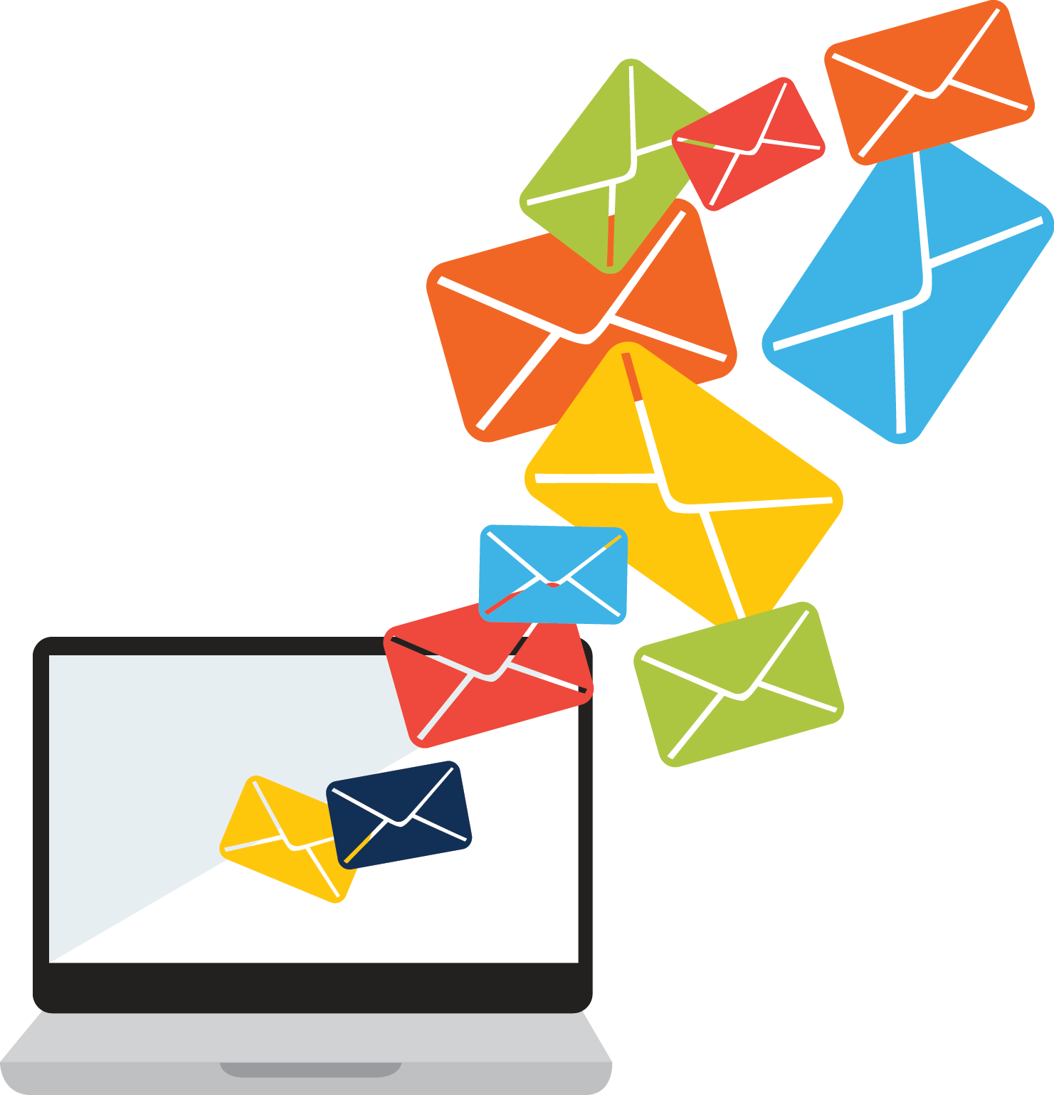 Email clipart means communication. Five reasons your open