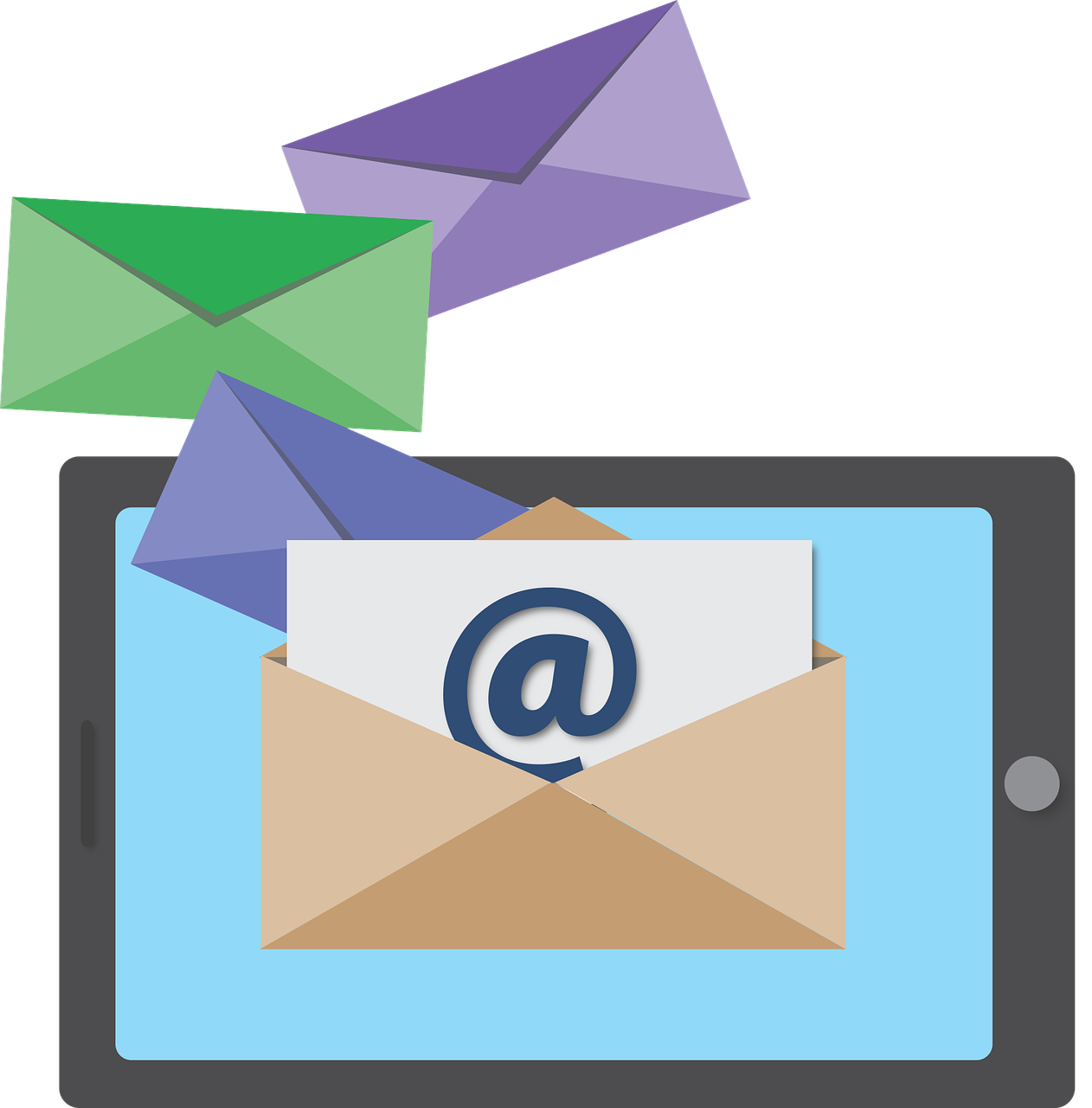 Opening up meaningful conversations. Email clipart means communication