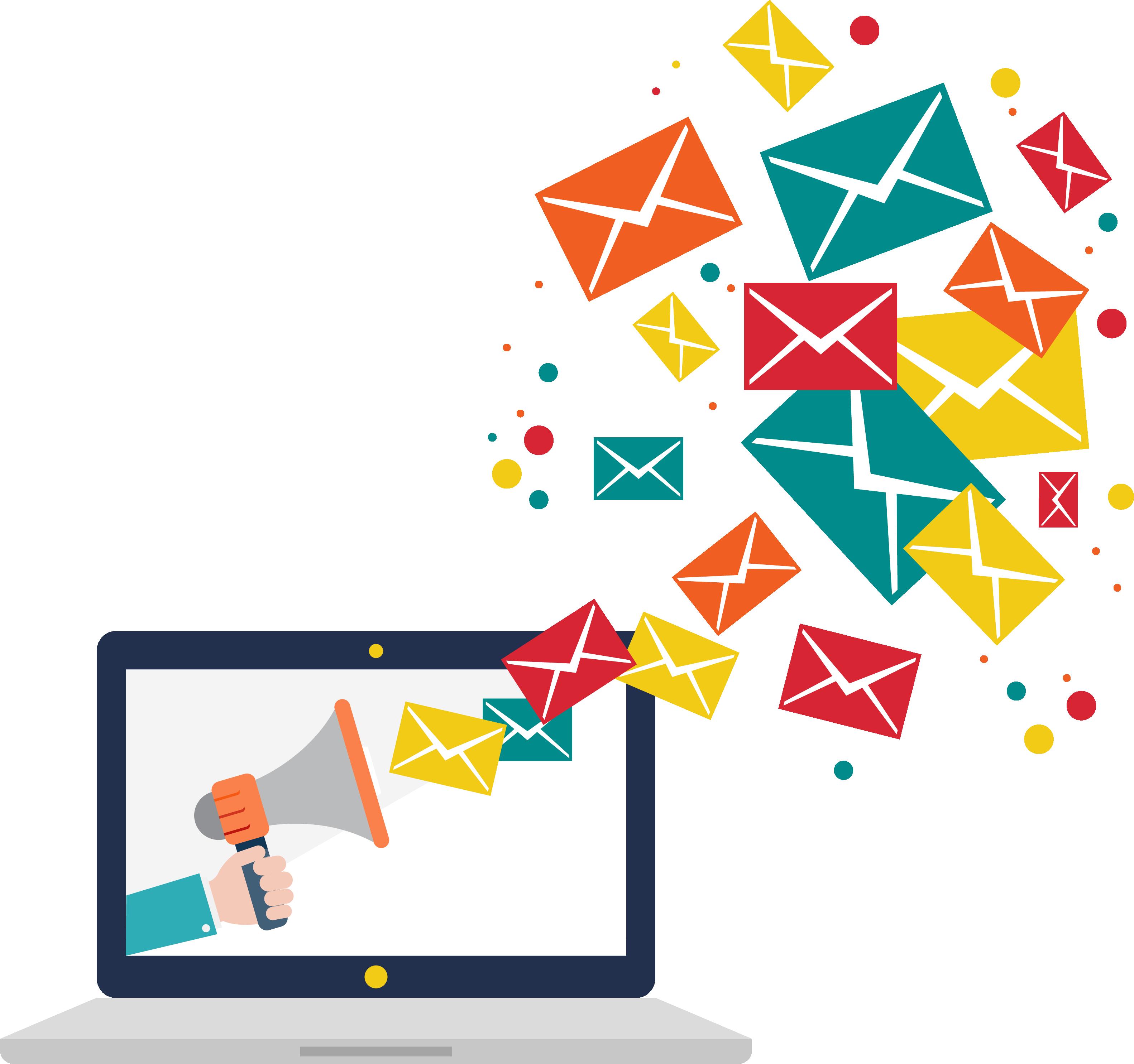 Appending service append datacaptive. Email clipart means communication