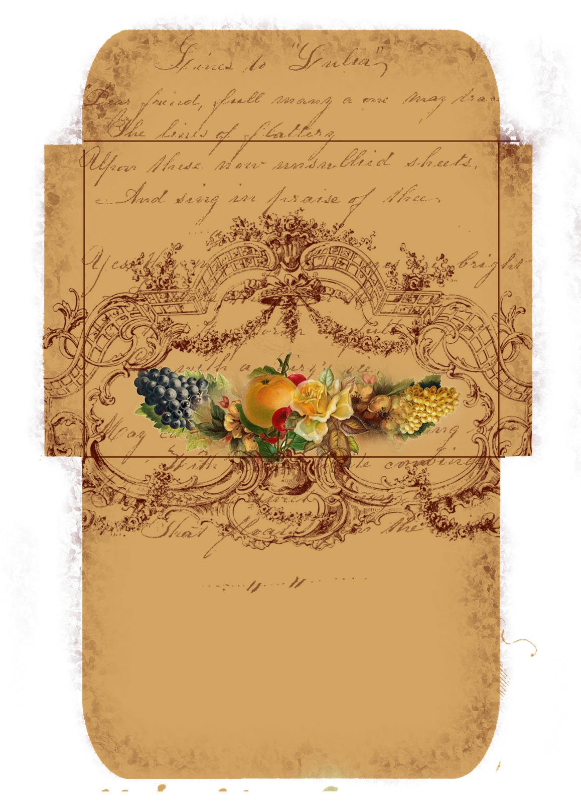 Freebie for your autumn. Email clipart money envelope